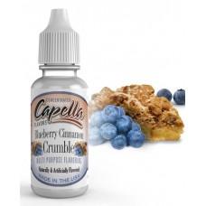 NEW Ароматизатор Capella Blueberry Cinnamon Crumble (Черничный пирог с корицей)