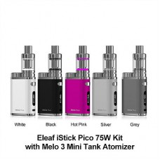 Электронная сигарета (Набор) Eleaf iStick Pico 75W & Melo 3 Kit