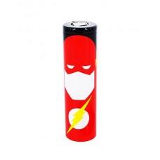 Термоусадки на батарейки 18650 с изображением Flash'a